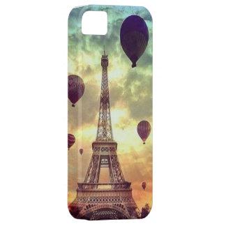 パリ + 気球 iPhone SE/5/5s ケース