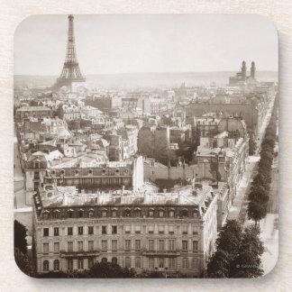 パリ: 空中写真1900年 コースター