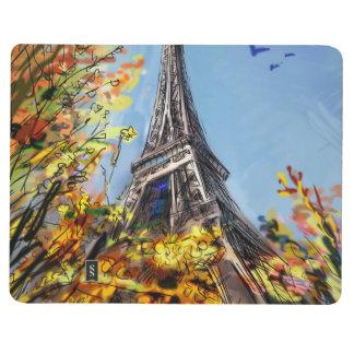 パリ-絵の通り ポケットジャーナル