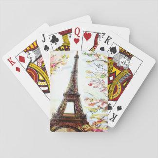パリ-絵2の通り トランプ