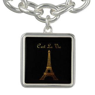 パリ: C'estのLaは*MULTIPLEのスタイルOPTIONS*を竸います チャームブレスレット