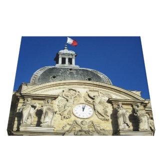 パリ- Jardin De Luxombourg キャンバスプリント