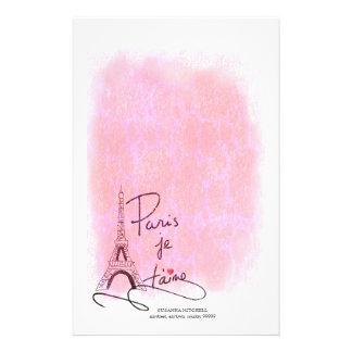 パリI愛PXLYを飾ります 便箋