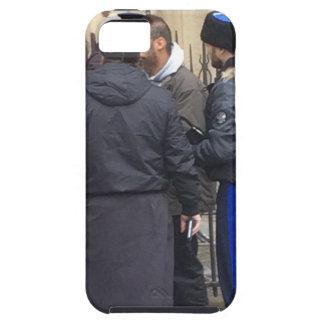 パリNotre Dameの外のロシア正教の司祭 iPhone SE/5/5s ケース