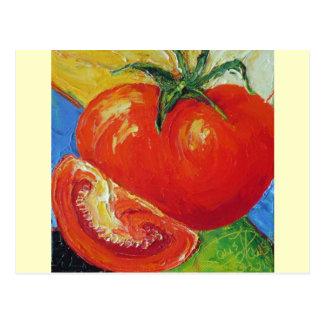 パリWyatt Llanso著トマト ポストカード