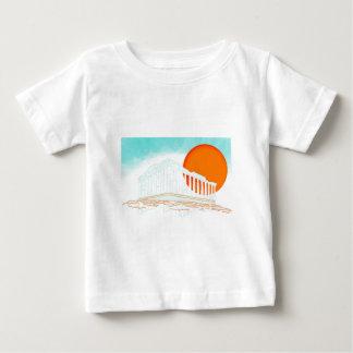 パルテノンの中の日没 ベビーTシャツ
