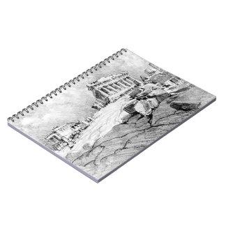 パルテノンギリシャ1913年 ノートブック