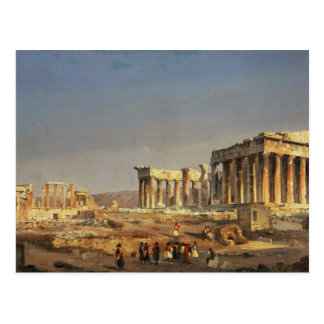 パルテノン1863年 ポストカード