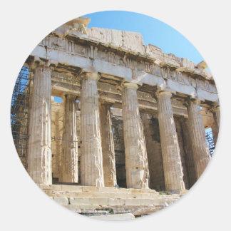 パルテノン、アクロポリスアテネ ラウンドシール