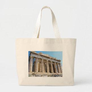 パルテノン、アクロポリスアテネ ラージトートバッグ