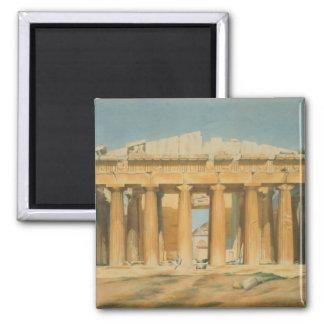 パルテノン、アテネ1810-37年 マグネット