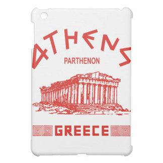 パルテノン-アテネ-ギリシャ語(赤い) iPad MINIカバー