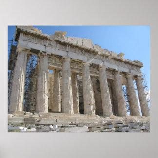 パルテノン-紀元前の5世紀 ポスター