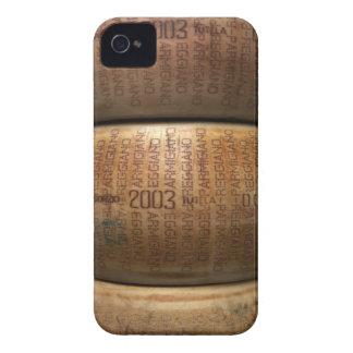 パルメザンチーズの積み重ね、クローズアップ Case-Mate iPhone 4 ケース