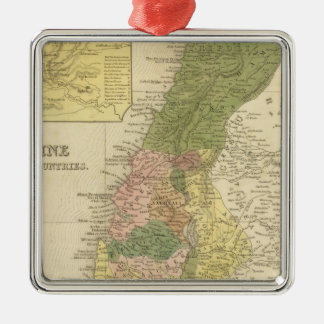 パレスチナおよび隣接した国 メタルオーナメント