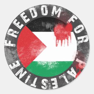 パレスチナのための自由 ラウンドシール