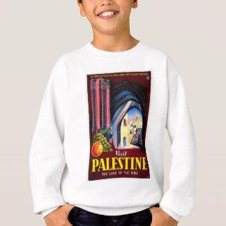 パレスチナのエルサレム/ヴィンテージ旅行 スウェットシャツ