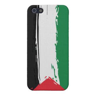 パレスチナのグランジな旗のiPhoneの場合 iPhone SE/5/5sケース