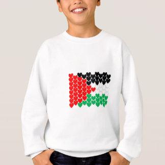 パレスチナのハート スウェットシャツ