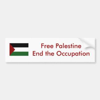 パレスチナのバンパーステッカー バンパーステッカー