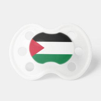 パレスチナの国民の世界の旗 おしゃぶり