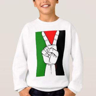 パレスチナの平和旗 スウェットシャツ