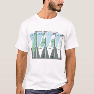 パレスチナの憶病な地図 Tシャツ