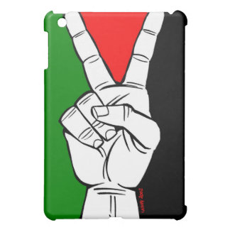パレスチナの旗のピースサイン iPad MINIカバー