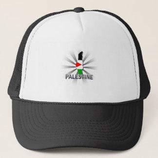 パレスチナの旗の地図2.0 キャップ