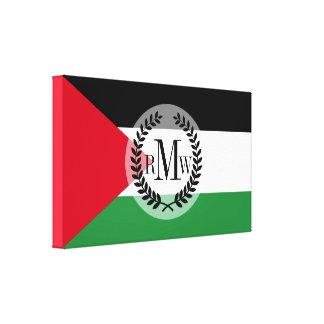 パレスチナの旗 キャンバスプリント