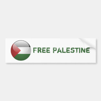パレスチナの旗 バンパーステッカー