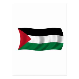 パレスチナの旗 ポストカード