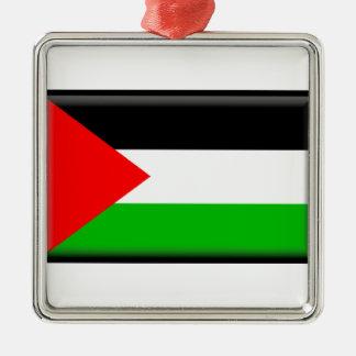 パレスチナの旗 メタルオーナメント
