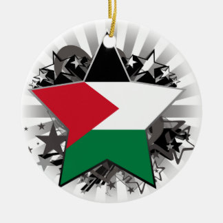 パレスチナの星 セラミックオーナメント