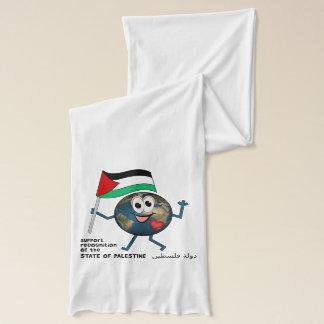 パレスチナの独立国家の世界の認識 スカーフ