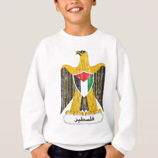 パレスチナの紋章付き外衣 スウェットシャツ