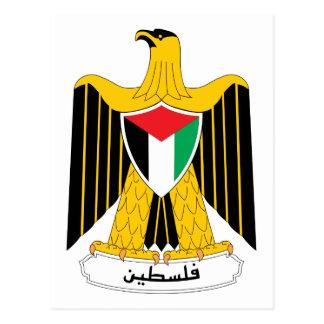 パレスチナの紋章付き外衣 ポストカード