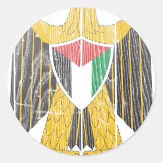 パレスチナの紋章付き外衣 ラウンドシール