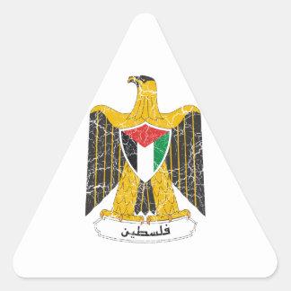 パレスチナの紋章付き外衣 三角形シール