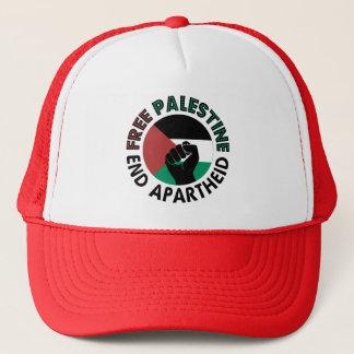 パレスチナの終わりのアパルトヘイトのパレスチナの自由な旗 キャップ