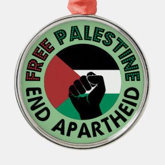 パレスチナの終わりのアパルトヘイトのパレスチナの自由な旗 メタルオーナメント