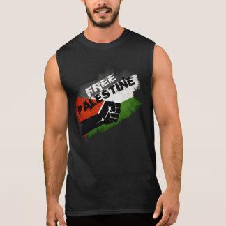 パレスチナの自由なグランジな旗 袖なしシャツ