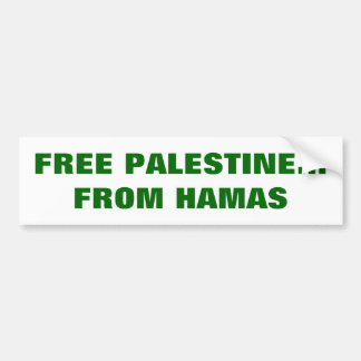 パレスチナの自由なバンパーステッカー バンパーステッカー