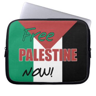 パレスチナの自由な今パレスチナの旗 ラップトップスリーブ