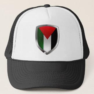 パレスチナの金属紋章 キャップ