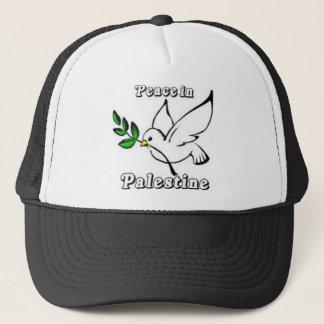 パレスチナの鳩の帽子の平和 キャップ