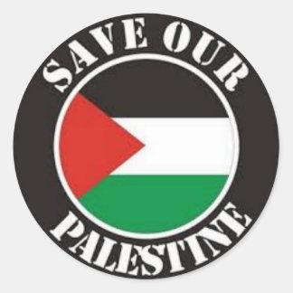 パレスチナガザのバッジピンキーホルダーの自由な保存のsticke ラウンドシール