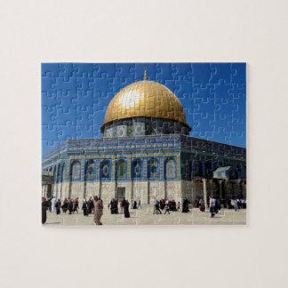 パレスチナ: エルサレムのパズルの石のドーム ジグソーパズル