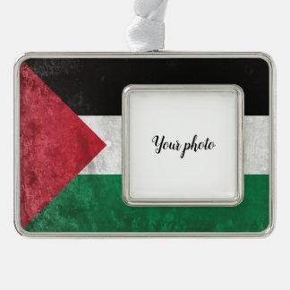 パレスチナ シルバープレートフレームオーナメント