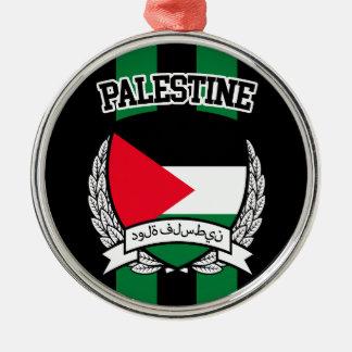 パレスチナ メタルオーナメント